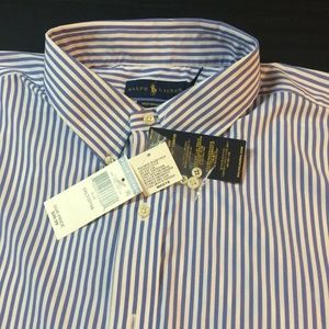 Ralph Lauren Performance Stripe 2XLT NWT!